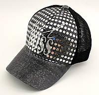 Детская бейсболка кепка с 54 по 58 размер детские бейсболки кепки летние для девочки с сеткой, фото 1