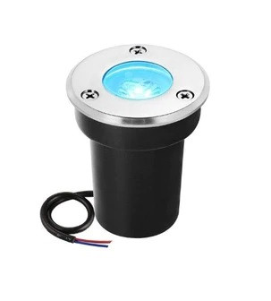 Світильник грунтовий QR-01 LED COB 5W Blue 230V IP65 65мм * 75мм