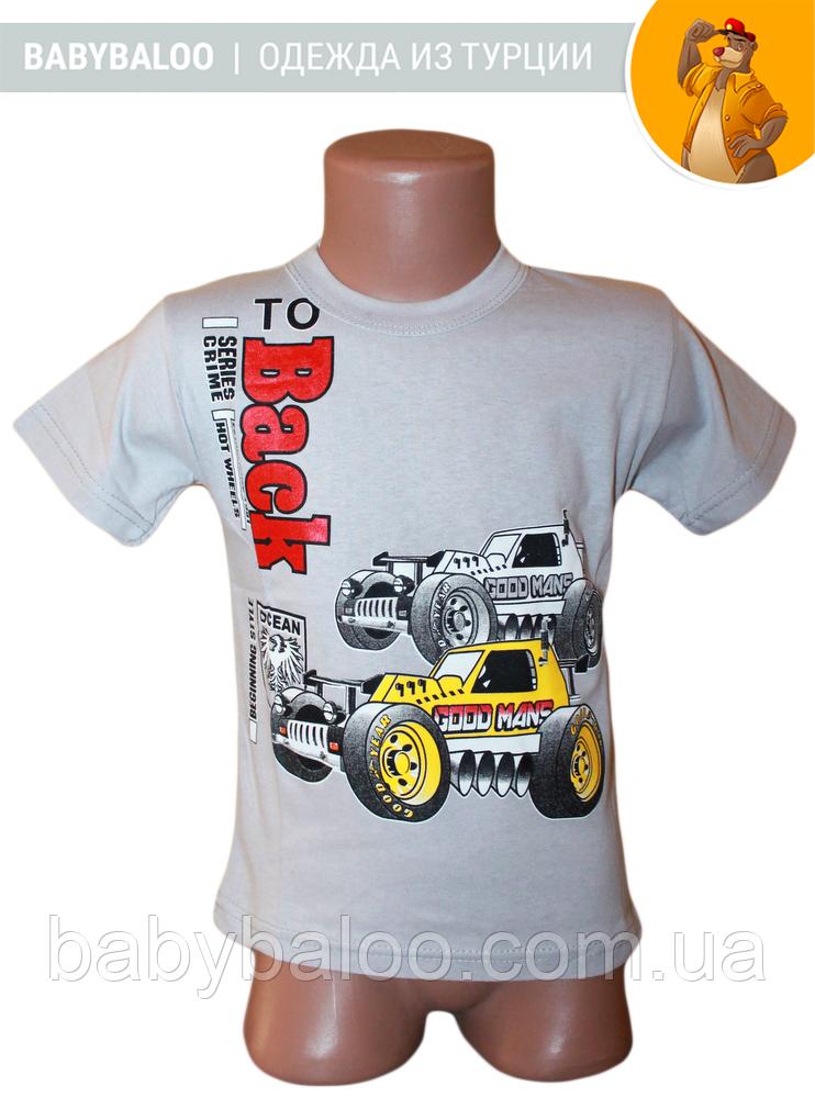 """Модная детская футболка """"Back""""( от 4 до 8 лет)"""