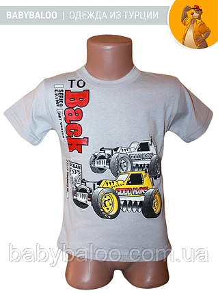 """Модная детская футболка """"Back""""( от 4 до 8 лет), фото 2"""