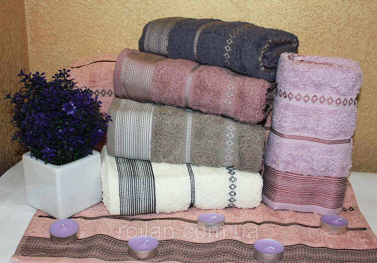 Банные турецкие полотенца Ромбик - Полоска