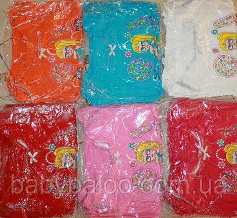 """Футболка стильная детская фонарик """"GIRL""""(от 4 до 8 лет) , фото 2"""