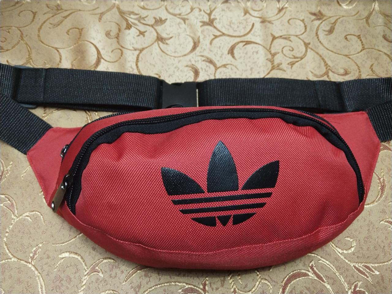 Сумка на пояс adidas новый/Спортивные барсетки сумка женский и мужские пояс Бананка только оптом