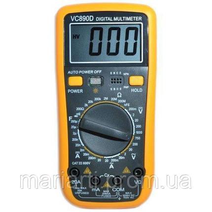 Мультиметр универсальный TS VS 890 D, фото 2