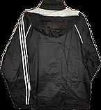 Демисезонная мужская ветровка-дождевик Adidas ESS 3S Rainjkt., фото 6