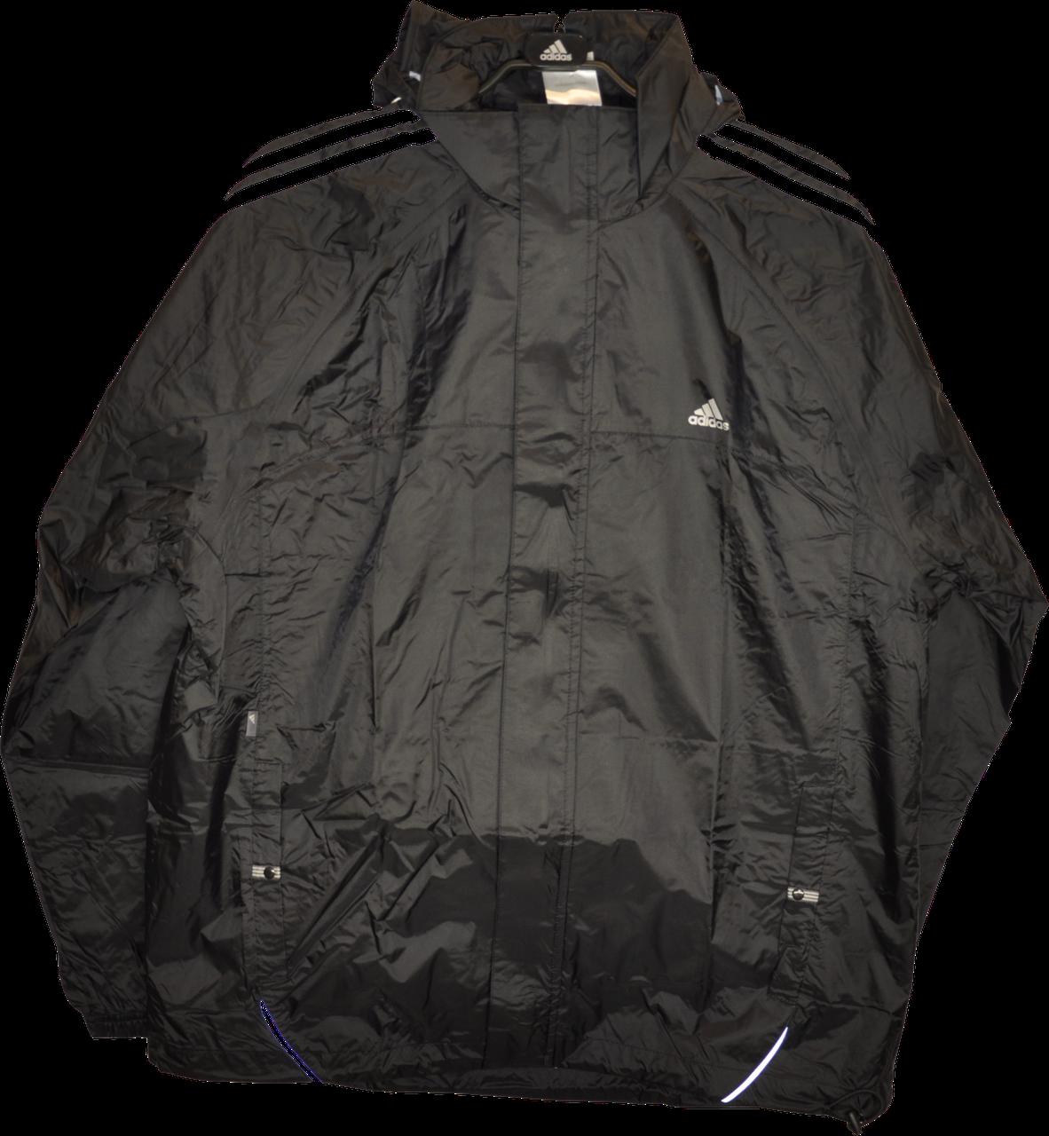 Демисезонная мужская ветровка-дождевик Adidas ESS 3S Rainjkt.