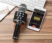Беспроводной Bluetooth караоке микрофон с динамиком, фото 1