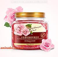 Несмываемая ночная маска BIOAQUA Natural Flower Petal Facial Sleep Mask с экстрактом лепестков розы 280g, фото 1