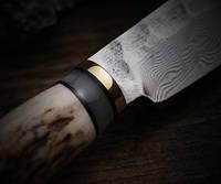 """Нож коллекционный """"Дамаск"""" с фиксированным клинком высокой прочности"""