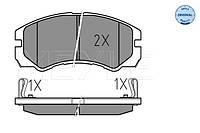 Тормозные колодки дисковые MEYLE ME 025 218 4516/W