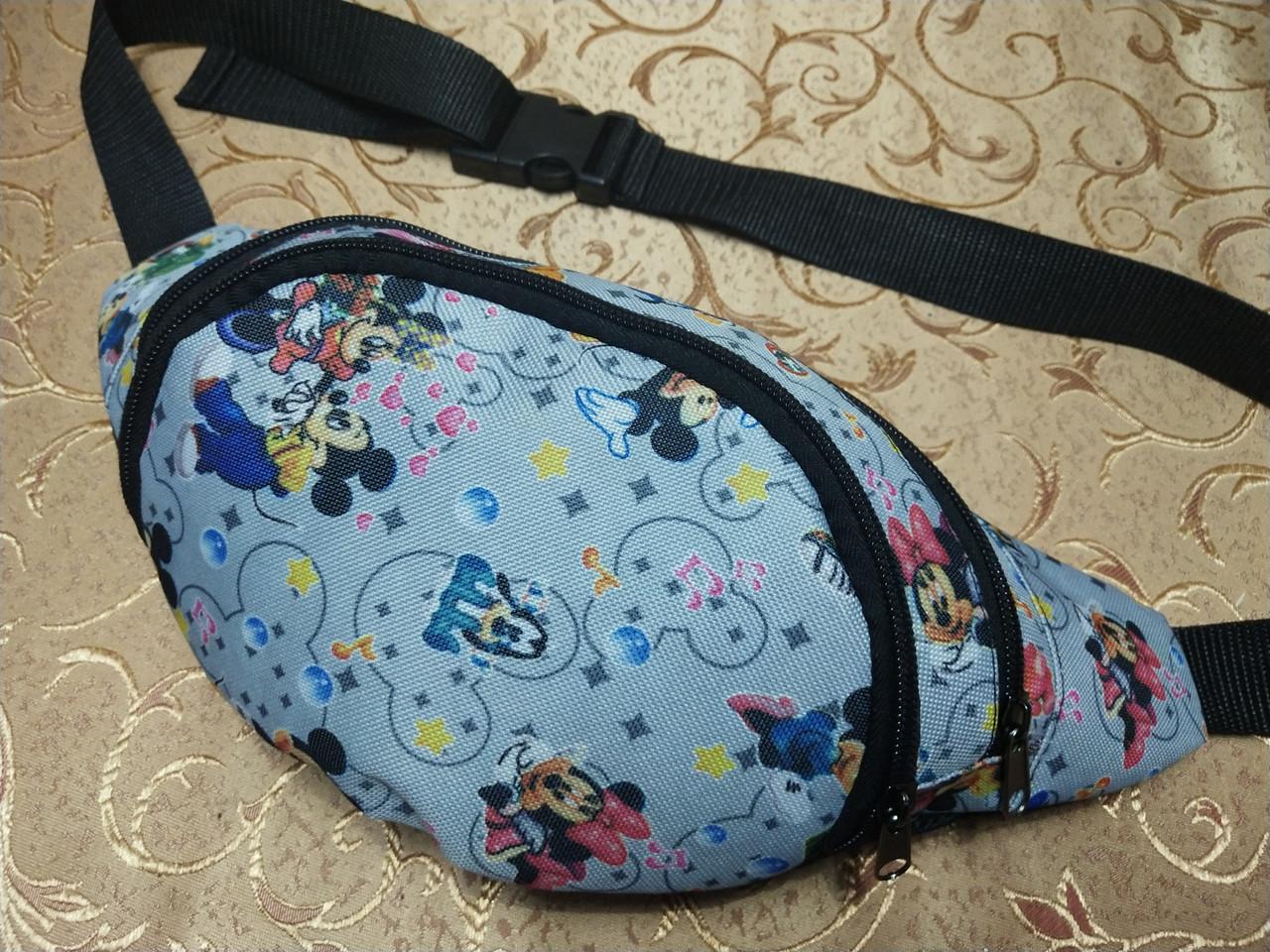 Сумка на пояс Ткань Принт спортивные барсетки сумка только опт