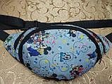 Сумка на пояс Ткань Принт спортивные барсетки сумка только опт, фото 2