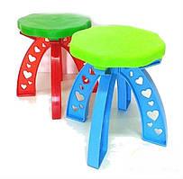 Табурет детский, детский стул Kinder Way 25-031-1-KW