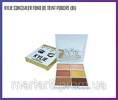 Палетка консилер Kylie Concealer Fond De Teint Poudre (01), Качество