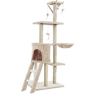 Когтеточка, домики, дряпка для кошек 138см