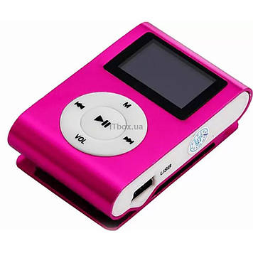 Mp3 плеер TOTO With display&Earphone Mp3 Pink (TPS-02-Pink)
