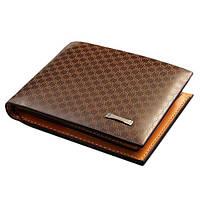 Модный кожаный коричневый  портмоне pidengbao