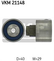 Паразитный обводной ролик ремня ГРМ VW T5 2.0TDI 09- SKF VKM21148