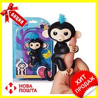 Интерактивная ручная обезьянка Fingerlings Happy Monkey Bella, Новинка