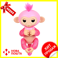 Интерактивная обезьянка Fingerlings (Розовая), Новинка