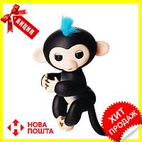 Интерактивная обезьянка Fingerlings (Черная), Новинка