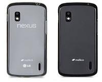 Чехол для LG Nexus 4 E960 - Melkco Poly Jacket TPU (пленка в комплекте)