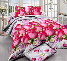 Евро комплект постельного белья XHY2155