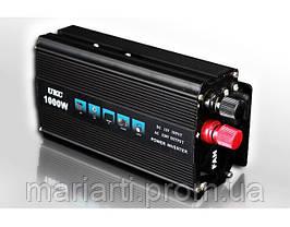 Инвертор автомобильный 1000W, Преобразователь напряжения AC/DC 1000W, Скидки, фото 2