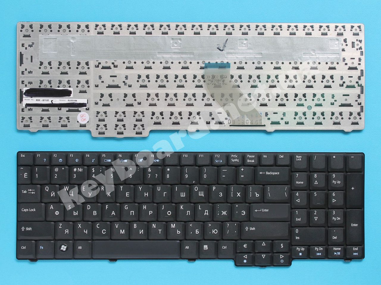 Клавиатура для ноутбука Acer Aspire 6930G, 6930