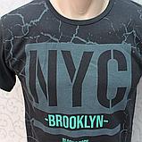 Футболка  мужская / молодежная, Турция. Модная молодежная футболка из коттона., фото 3