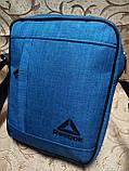 (24*19-большое)Барсеткаvans сумка REEBOK спортивные мессенджер для через плечо Унисекс ОПТ, фото 2