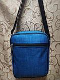(24*19-большое)Барсеткаvans сумка REEBOK спортивные мессенджер для через плечо Унисекс ОПТ, фото 3