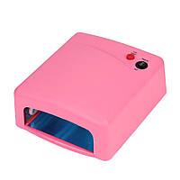 Лампа для наращивания ногтей RIAS ZH-818 36W Pink (2_004850)