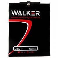Аккумулятор батарея Walker Xiaomi Redmi 3 / BM47 (4000 mAh)
