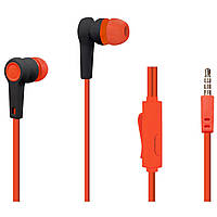 Наушники гарнитура Walker H330 + mic Red