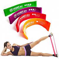 Фитнес резинки (5 шт.+ чехол), Ленты сопротивления, резинки для фитнеса, Фитнес резинки