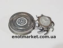 Бритвенная головка ножевая пара (комплект 1 сеточка +1 лезвие) электробритвы Philips (аналог) серии HQ, HS, HP
