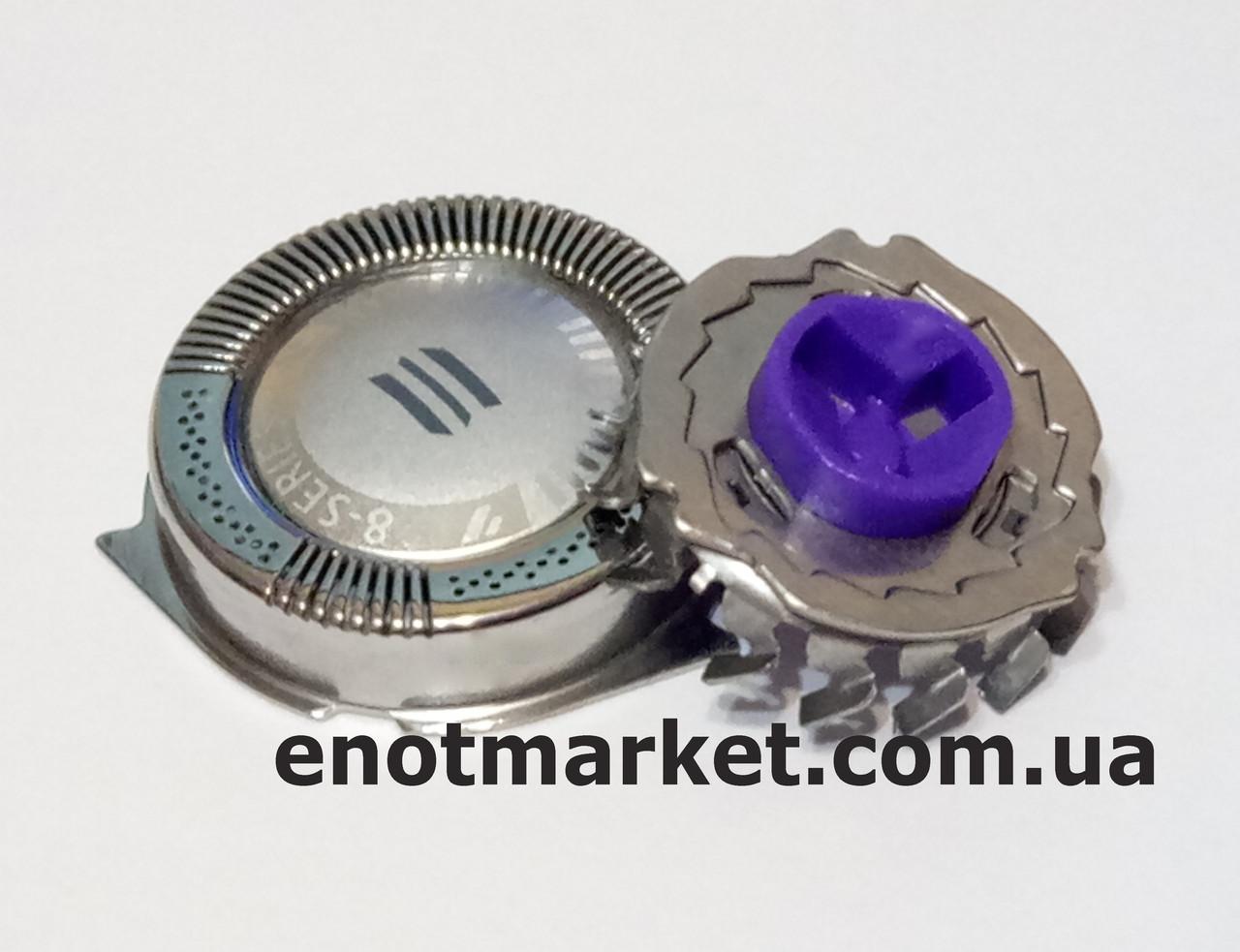 Бритвенная головка ножевая пара (комплект 1 сеточка + 1 лезвие) электробритвы Philips (аналог) HQ, AT, PT, XL