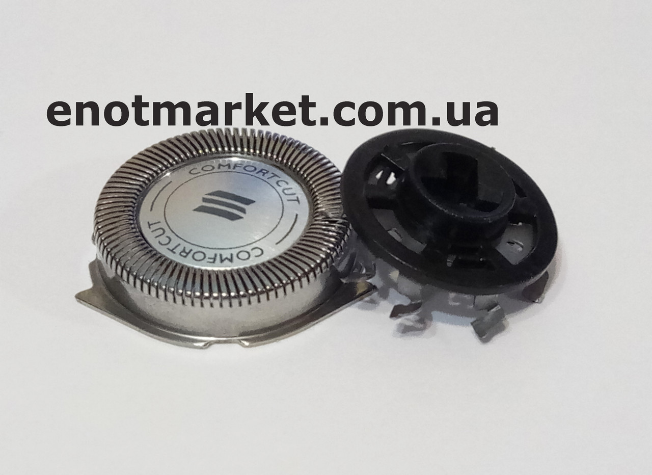 Бритвенная головка ножевая пара (комплект 1 сеточка +1 лезвие) электробритвы Philips (аналог) HQ, PT, AT, X,XL