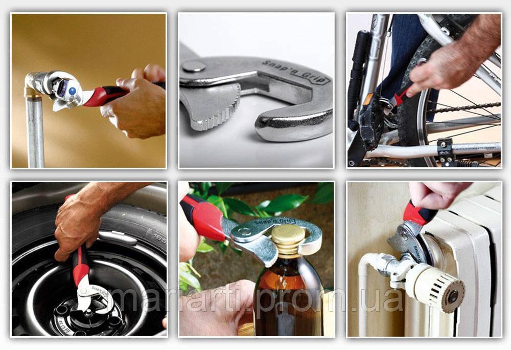 Универсальный ручной гаечный ключ Snap'N Grip, Качество