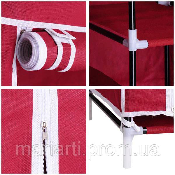 Тканевой шкаф для одежды HCX Storage Wardrobe №88105, Качество