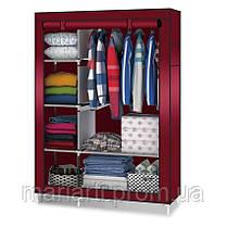 Тканевой шкаф для одежды HCX Storage Wardrobe №88105, Качество, фото 2