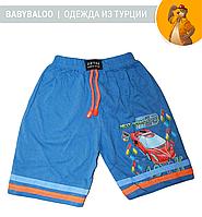 """Хлопковые шорты для мальчика """"Спортивная машина"""" (от 1 до 4 лет)"""