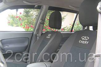 Чехлы в салон модельные Chery Amulet 2003 - 2012 (Prestige_Budget)