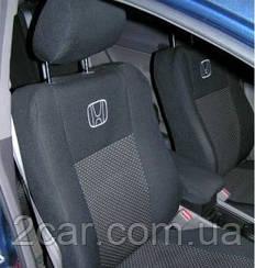 Чехлы в салон для Honda CR-V с 2001–06 г (модельные) (EMC-Elegant)
