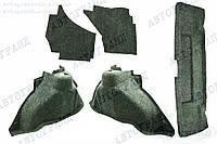 Обивка багажника 2108, 2109 в комплекте с арками (ворс) (к-кт 5 шт)
