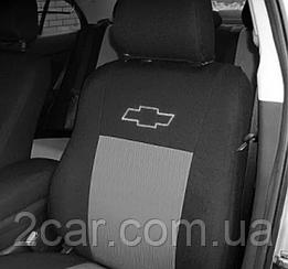 Чехлы в салон модельные Chevrolet Captiva с 2006-11 г (EMC-Elegant)