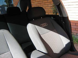 Чехлы в салон для Audi А-4 (B7) Avant с 2004-07 г (модельные) (EMC-Elegant)