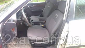 Чехлы в салон для Audi А-4 (B6) с 2000-04 г (модельные) (EMC-Elegant)