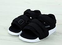 Сандали Adidas Sandals реплика ААА+ размер 36-38,43-45 черный (живые фото), фото 1